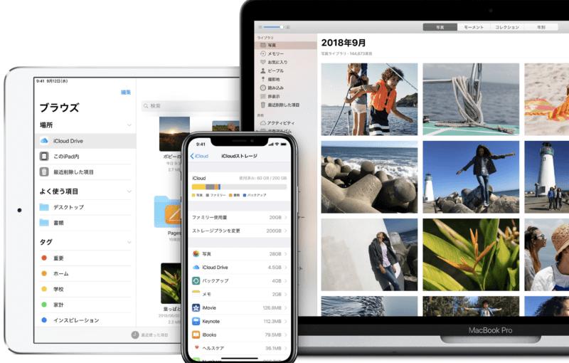 【復習】アップルが無料提供するクラウドサービス「iCloud」とは