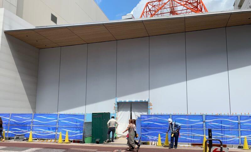 新店舗へ移転と噂されるApple福岡天神店の移転先の最新写真を公開!