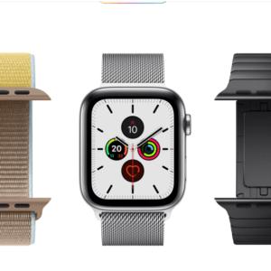 Apple Watch5の防水性能は風呂やプール海でも泳げる程安心!