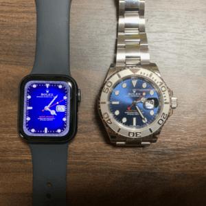【最新版】Apple Watchをロレックスやエルメスの文字盤にする方法